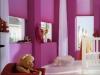 mocny różowy do pokoju dziecka