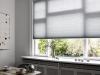 jasne plisy do okna w kuchni
