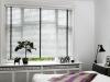 jasne żaluzje aluminiowe do sypialni